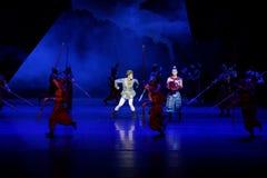 De toernooien 2-vier handeling ` belemmerden inklaring ` - Epische de Zijdeprinses ` van het dansdrama ` royalty-vrije stock foto