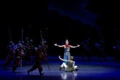 De toernooien 2-vier handeling ` belemmerden inklaring ` - Epische de Zijdeprinses ` van het dansdrama ` royalty-vrije stock afbeelding