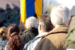 De toeschouwers van de gebeurtenis Royalty-vrije Stock Foto