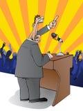 De toespraak van de presentatie stock illustratie