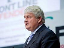 De toespraak van Dennis O'Brien Royalty-vrije Stock Afbeelding