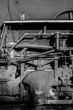 De Toestellen en de Pijpen van de stoommotor Stock Afbeelding
