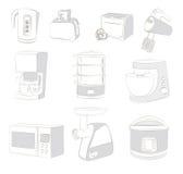 De toestellen van de keuken Royalty-vrije Stock Afbeeldingen