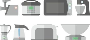 De toestellen van de keuken Royalty-vrije Stock Afbeelding