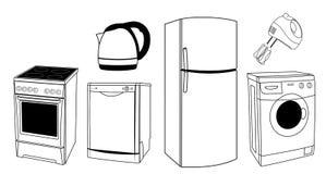 De wasmachine van het silhouet vector illustratie afbeelding 28538277 - Designer koffietafel verkoop ...