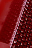 De toetsenborden van de computer en het slanke scherm royalty-vrije stock fotografie
