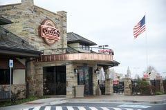 De Toevallige Koffie & Resturant van de cheddar Stock Fotografie