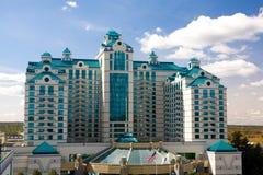 De Toevlucht en het Casino van Foxwoods stock fotografie