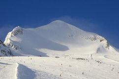 De toevlucht Frankrijk Espace Killy van de ski Royalty-vrije Stock Foto