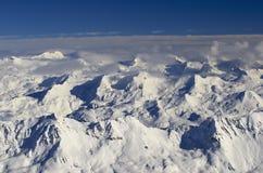 De toevlucht Frankrijk Espace Killy van de ski Royalty-vrije Stock Afbeeldingen