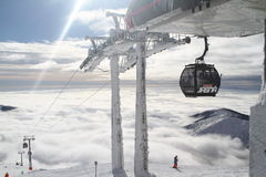 De toevlucht Jasna Slowakije Europa van de ski Royalty-vrije Stock Foto