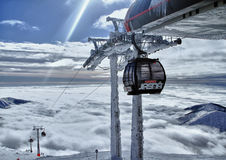 De toevlucht Jasna Slowakije Europa van de ski Stock Foto's