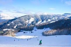 De toevlucht Schladming van de ski oostenrijk Royalty-vrije Stock Foto's