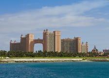 De Toevlucht van Atlantis in de Bahamas stock fotografie