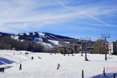 De toevlucht van de de bergski van Colorado Stock Foto's