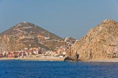 De toevlucht van Cabo San Lucas toneel Royalty-vrije Stock Afbeeldingen