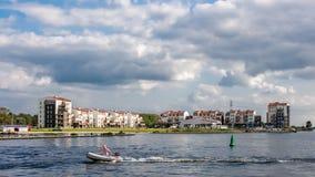 De toevlucht van de Eemhofvakantie, Zeewolde, Holland Royalty-vrije Stock Afbeelding