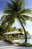 De Toevlucht van de luxe - Tahiti - Franse Polynesia Royalty-vrije Stock Afbeeldingen