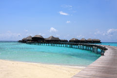 De toevlucht van de Maldiven Stock Foto's