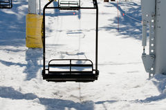 De Toevlucht van de ski Royalty-vrije Stock Foto's
