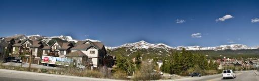 De Toevlucht van de Ski van Colorado van Breckenridge Stock Foto