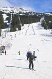 De Toevlucht van de Ski van Louise van het meer Stock Foto's