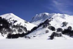 De Toevlucht van de Ski van Matese van Campitello royalty-vrije stock foto's