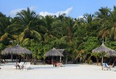 De toevlucht van de vakantie in de Maldiven Royalty-vrije Stock Fotografie