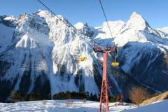 De toevlucht van de winter in Noordelijke Caucasia, Rusland Royalty-vrije Stock Foto