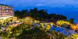 De toevlucht van het luxestrand in Panama Royalty-vrije Stock Fotografie