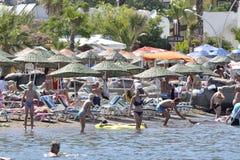 De toevlucht van het strand Royalty-vrije Stock Afbeelding