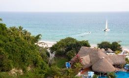 De Toevlucht van het strand Royalty-vrije Stock Fotografie