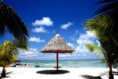 De Toevlucht van het Strand van de Maldiven stock foto