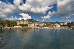 De toevlucht van Montreux. Royalty-vrije Stock Fotografie