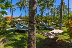 De toevlucht van Nusadua in Bali Indonesië royalty-vrije stock afbeeldingen