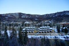 De toevlucht van de Snowmassski Stock Foto