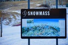 De toevlucht van de Snowmassski Royalty-vrije Stock Afbeelding
