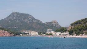 De toevluchtstad van het strand Stock Fotografie