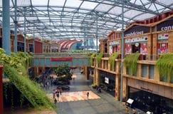 De Toevluchtwereld en het Feestelijke Gangwinkelcomplex Stock Afbeelding