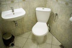 De toiletruimte Stock Afbeeldingen