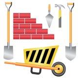 De tolreeks van de bouw. Royalty-vrije Stock Foto's