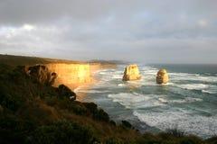 De tolv apostlarna, Australien Royaltyfri Fotografi
