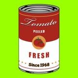De tomaat kan Stock Fotografie