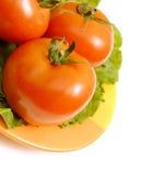De tomaat van de close-up Stock Afbeelding