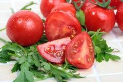 De tomaat van de kers Royalty-vrije Stock Foto
