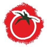 De tomaat van de kunst Royalty-vrije Stock Afbeeldingen