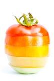 De tomaat van het segment Stock Afbeeldingen