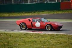 De Tomaso Pantera test 2016 at Monza Stock Photography