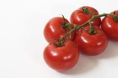 De tomaten van de cluster Stock Fotografie