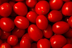De tomaten van de druif Royalty-vrije Stock Foto